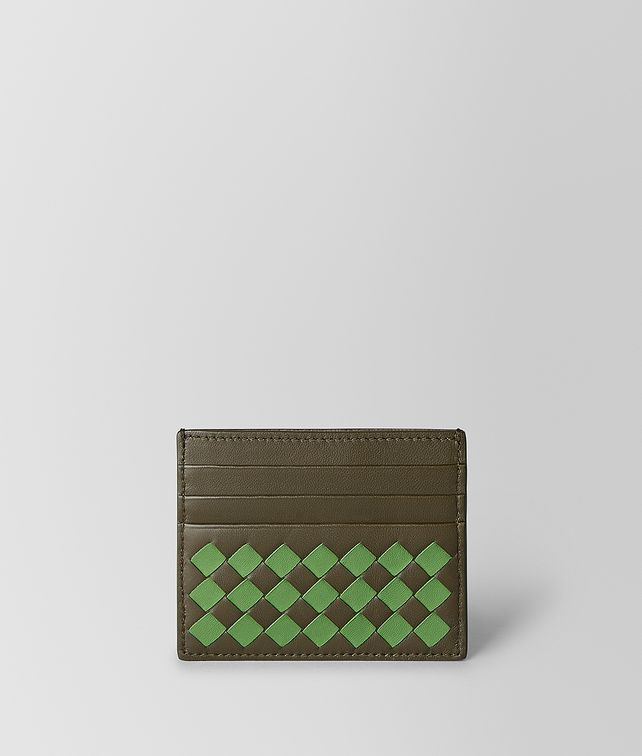 BOTTEGA VENETA CARD CASE IN INTRECCIATO CHEQUER Card Case Man fp