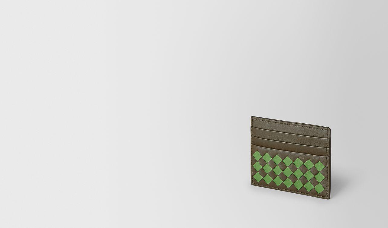 card case in intrecciato chequer  landing