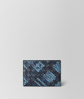 CARD CASE IN TARTAN DOTS