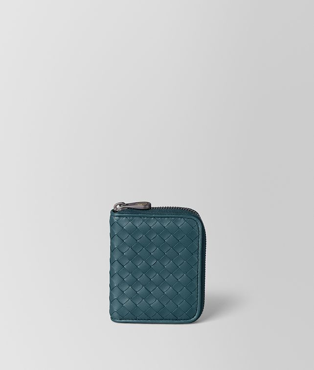BOTTEGA VENETA COIN PURSE IN INTRECCIATO NAPPA Small Wallet [*** pickupInStoreShipping_info ***] fp
