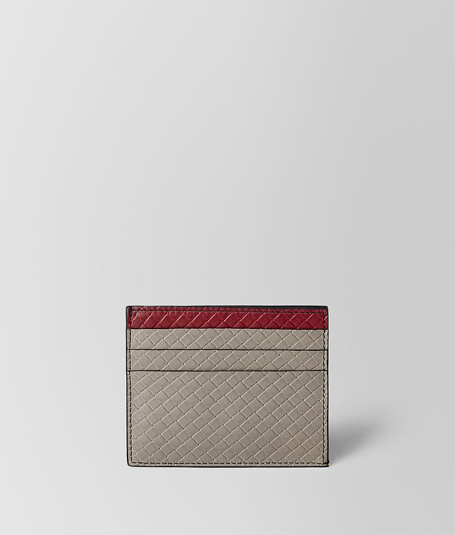 BOTTEGA VENETA CARD CASE IN MICRO INTRECCIATO EMBOSSED Card Case Man fp