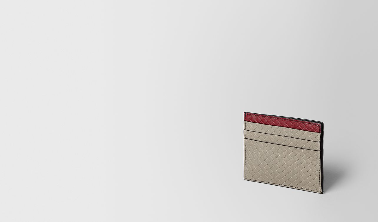 card case in micro intrecciato embossed  landing