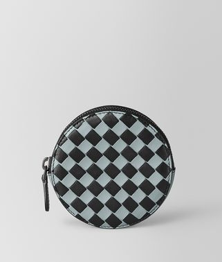 COIN PURSE IN INTRECCIATO CHECKER