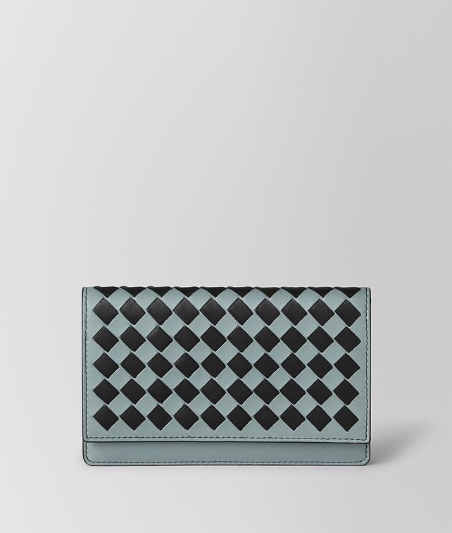 BOTTEGA VENETA CARD CASE IN INTRECCIATO CHEQUER Card Case E fp