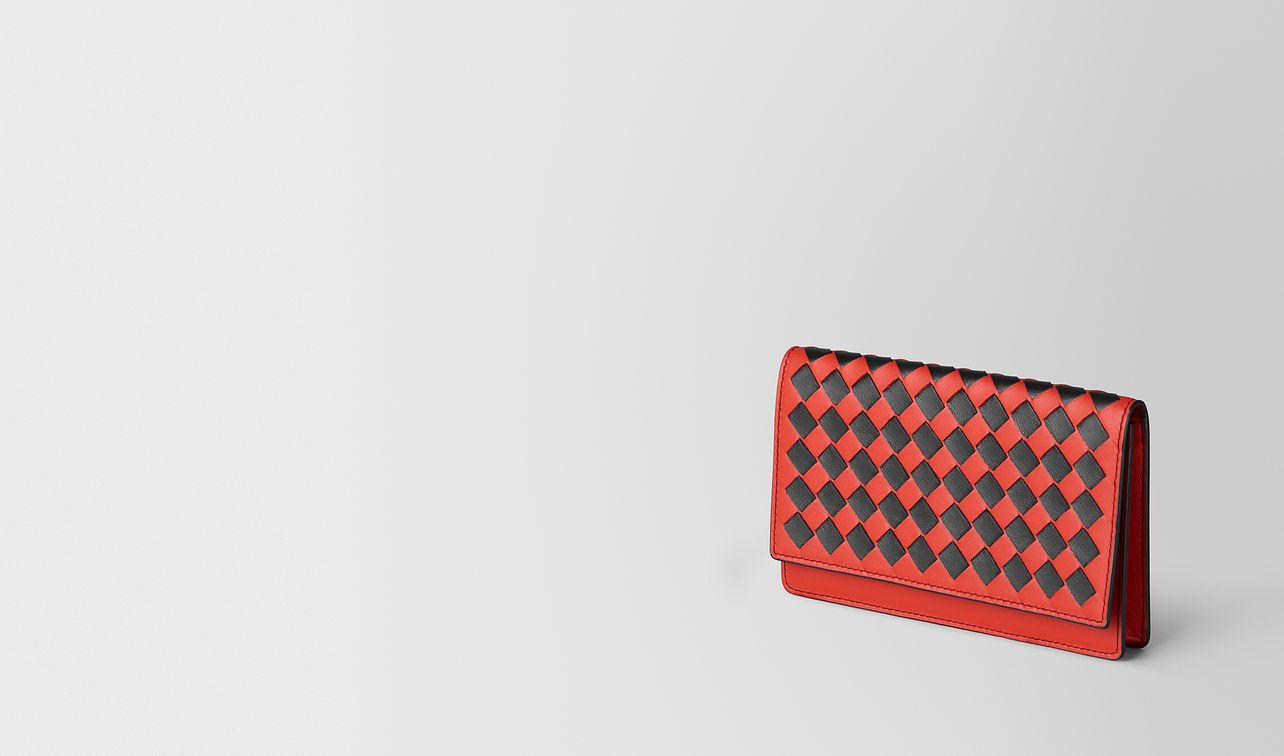 card case in intrecciato checker  landing