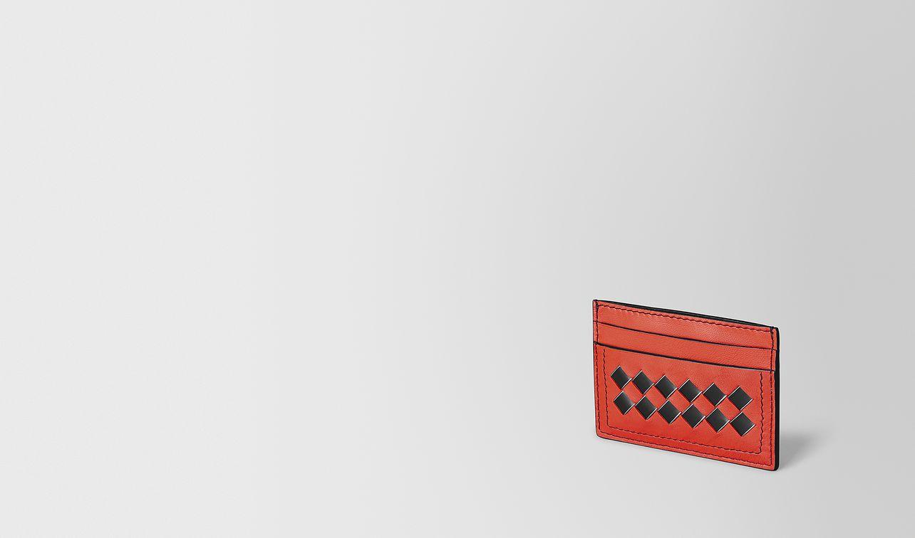 ポピー イントレチャート チェッカー メタルブラッシュ カードケース  landing