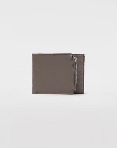 Double fold leather wallet