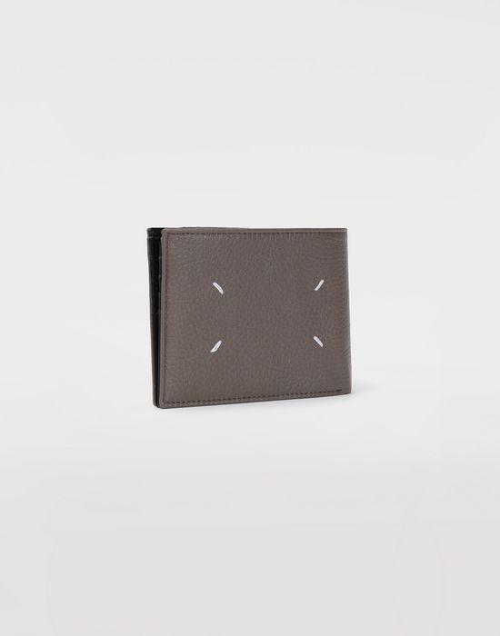 MAISON MARGIELA Double fold leather wallet Wallets [*** pickupInStoreShippingNotGuaranteed_info ***] r
