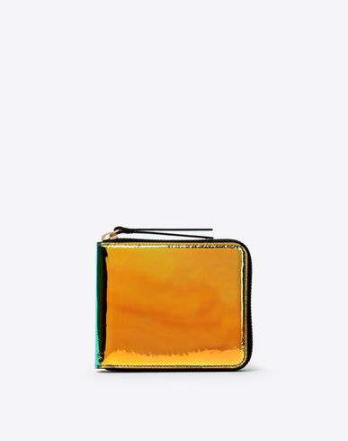 MAISON MARGIELA Reflective multicolor leather wallet Wallet [*** pickupInStoreShipping_info ***] f