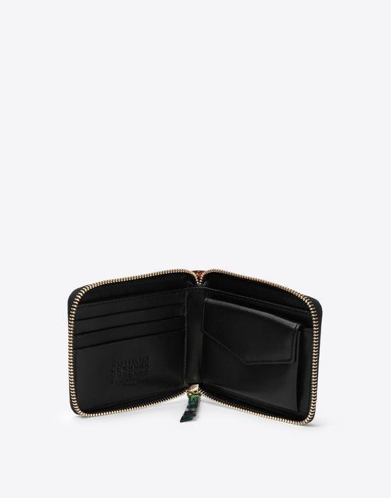 MAISON MARGIELA Reflective multicolor leather wallet Wallet [*** pickupInStoreShipping_info ***] d