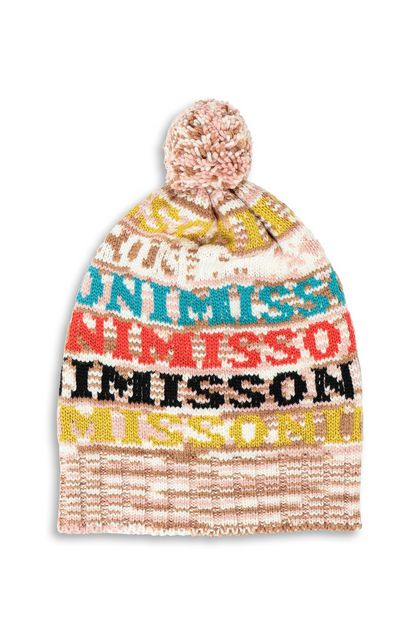 MISSONI Hat Ivory Woman - Back