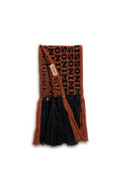MISSONI Scarf Brick red Woman - Front