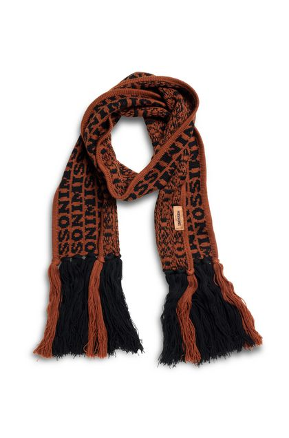 MISSONI Scarf Brick red Woman - Back