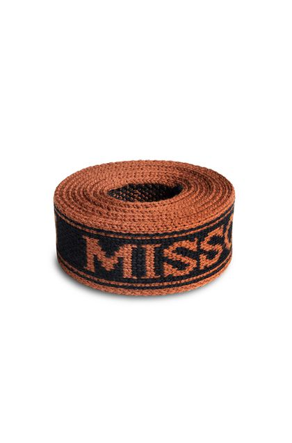 MISSONI Belt Brick red Woman - Back