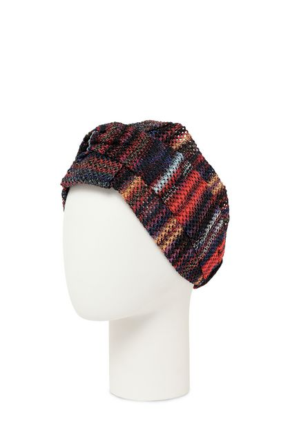 MISSONI Head band Brick red Woman - Front