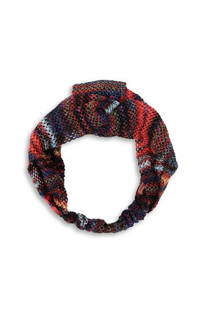 MISSONI Head band Brick red Woman - Back