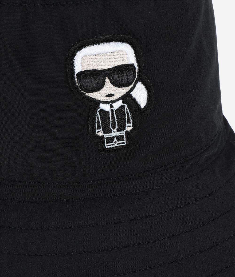KARL LAGERFELD K/Ikonik Bucket Hat Hat E d