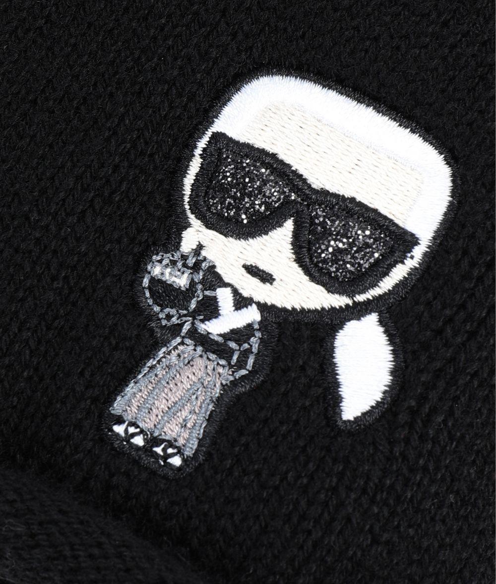 KARL LAGERFELD K/Tokyo Beanie Hat Woman d