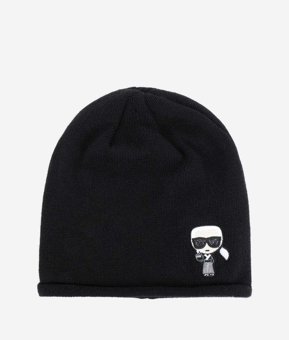 KARL LAGERFELD K/Tokyo Beanie Hat Woman f