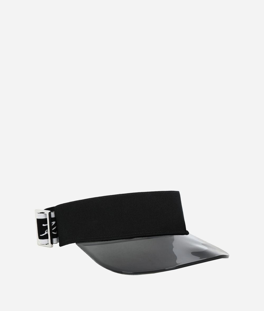 KARL LAGERFELD K/Ikonik Visor Hat Woman f