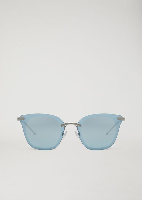 Open Wire sunglasses with Glasant rimless frame