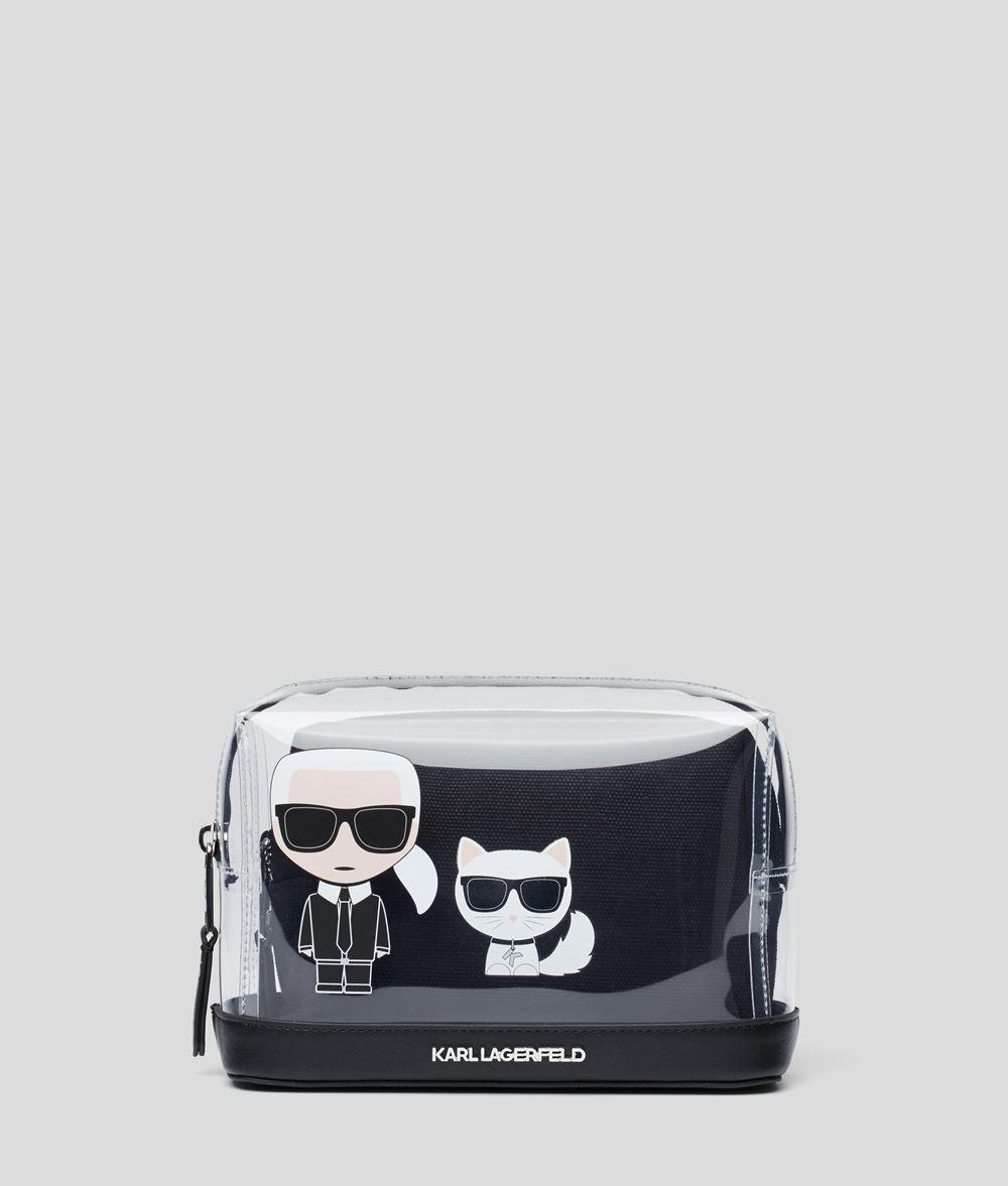 KARL LAGERFELD Прозрачная сумочка с логотипом K/Ikonik Сумочка Для Женщин d