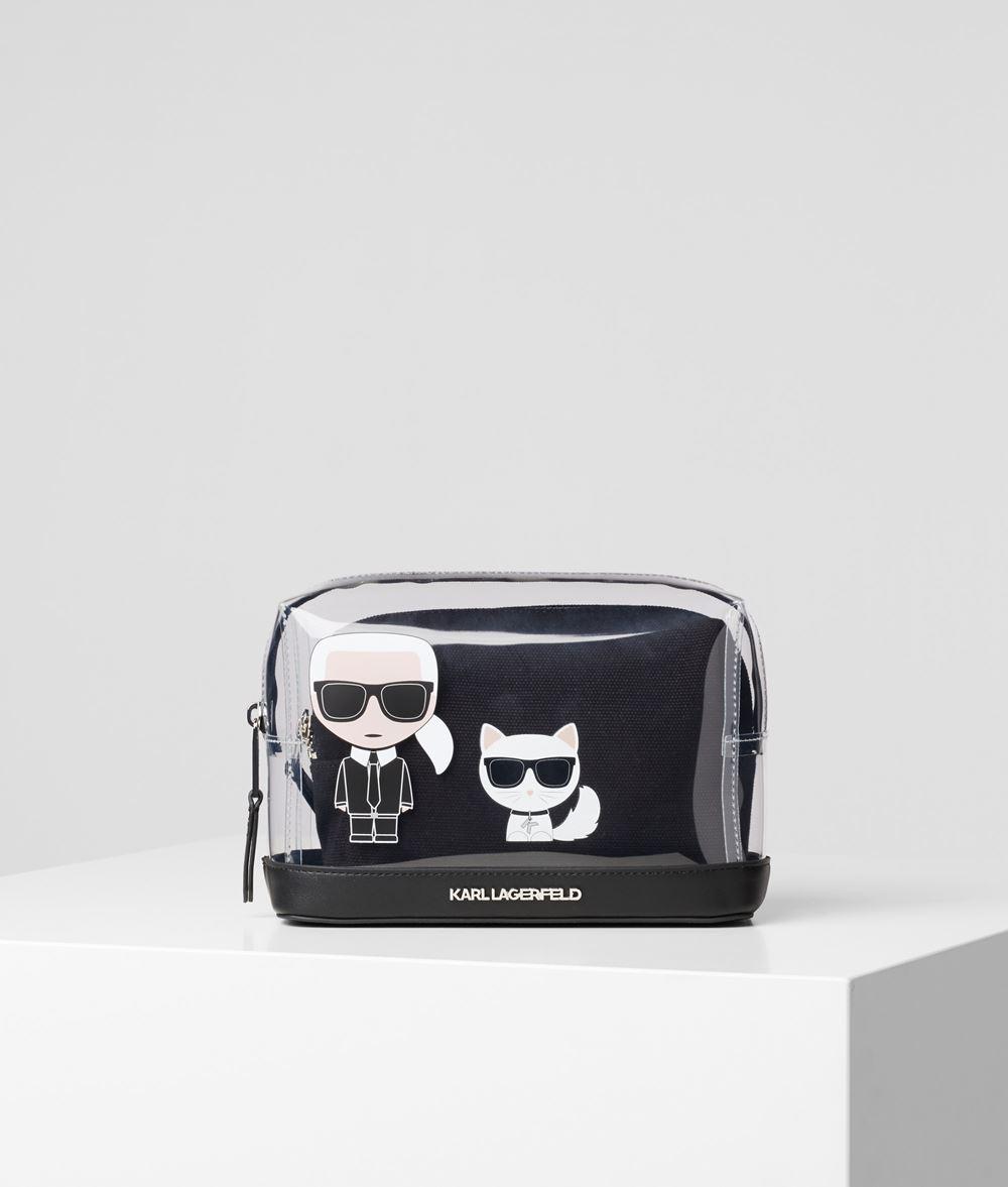 KARL LAGERFELD Прозрачная сумочка с логотипом K/Ikonik Сумочка Для Женщин f