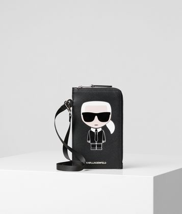 KARL LAGERFELD K/IKONIK PHONE HOLDER