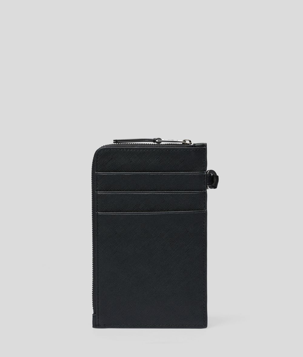 KARL LAGERFELD K/Ikonik Phone Holder Cardholder E d