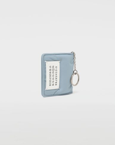 Small Leather Goods Glam Slam keyring wallet