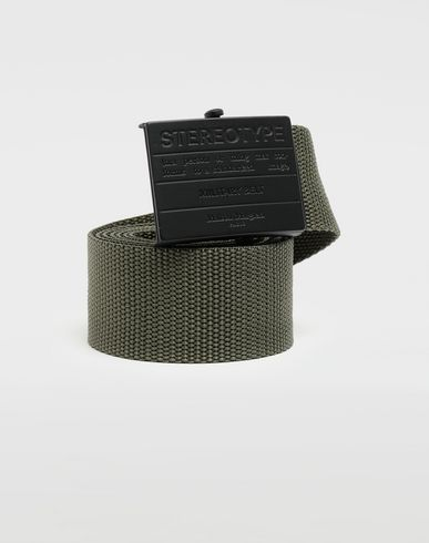 MAISON MARGIELA Stereotype military belt Belt [*** pickupInStoreShippingNotGuaranteed_info ***] f