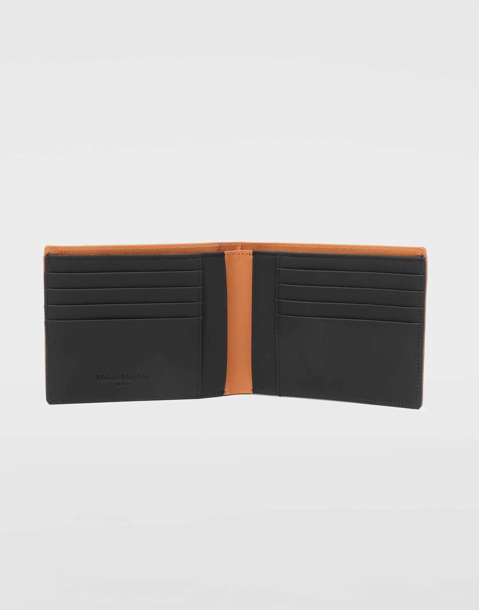 MAISON MARGIELA Small fold-out zipped leather wallet Wallet Man d
