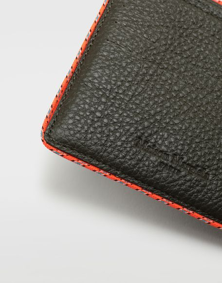 MAISON MARGIELA Piped fold-out leather wallet Wallet Man a