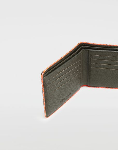 MAISON MARGIELA Piped fold-out leather wallet Wallet Man e