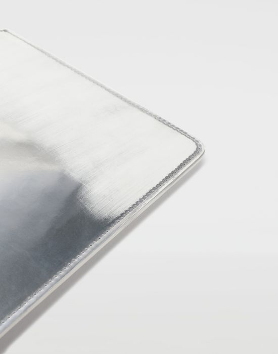 MAISON MARGIELA Brushed leather zip clutch Wallet [*** pickupInStoreShippingNotGuaranteed_info ***] d