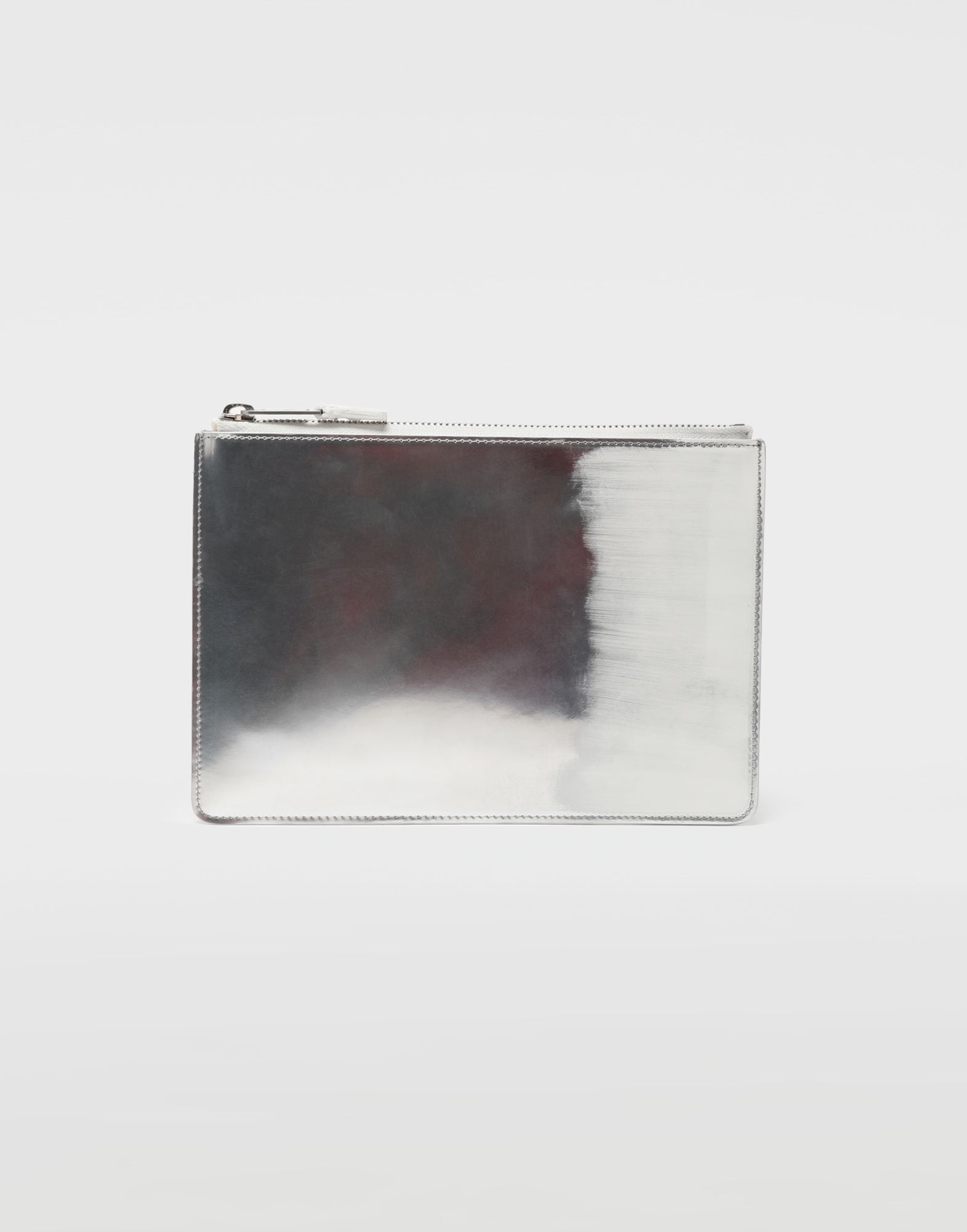 MAISON MARGIELA Brushed leather zip clutch Wallet Man f