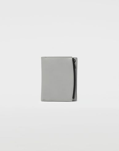 MAISON MARGIELA Wallets [*** pickupInStoreShippingNotGuaranteed_info ***] Large fold-out leather zipped wallet f