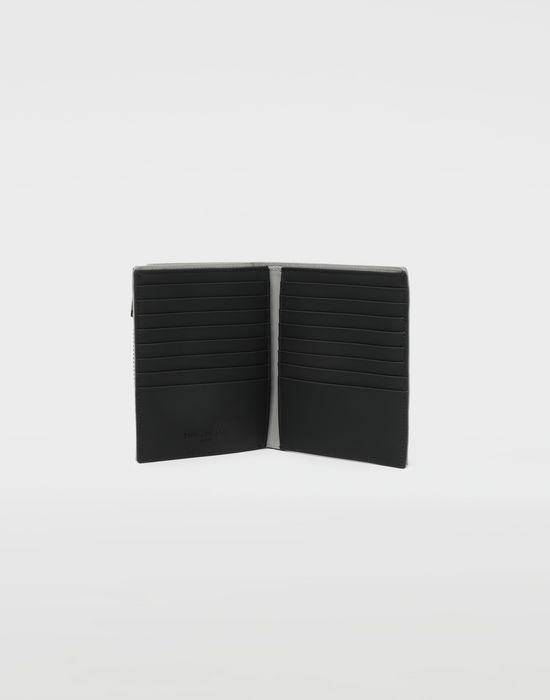 MAISON MARGIELA Large fold-out leather zipped wallet Wallets [*** pickupInStoreShippingNotGuaranteed_info ***] d