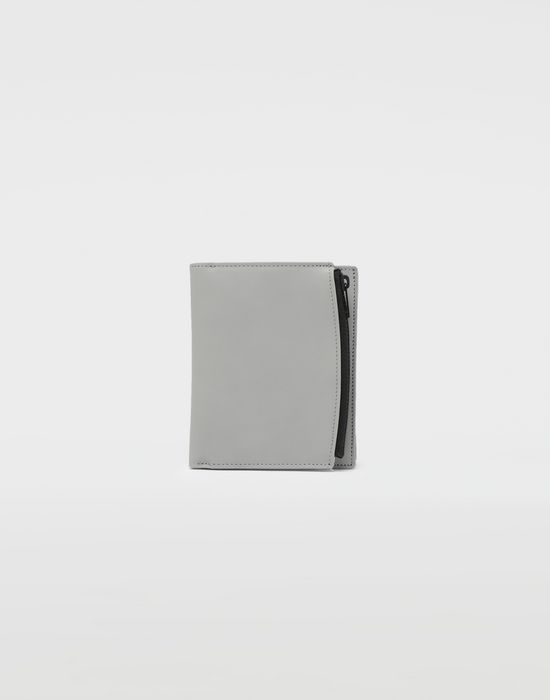MAISON MARGIELA Large fold-out leather zipped wallet Wallets [*** pickupInStoreShippingNotGuaranteed_info ***] f