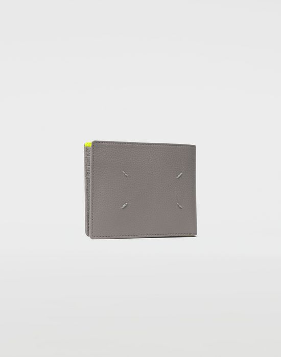 MAISON MARGIELA Small fold-out zipped leather wallet Wallets [*** pickupInStoreShippingNotGuaranteed_info ***] r