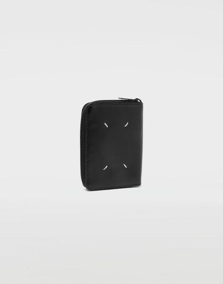 MAISON MARGIELA Stereotype-print leather zip wallet Wallet Man r