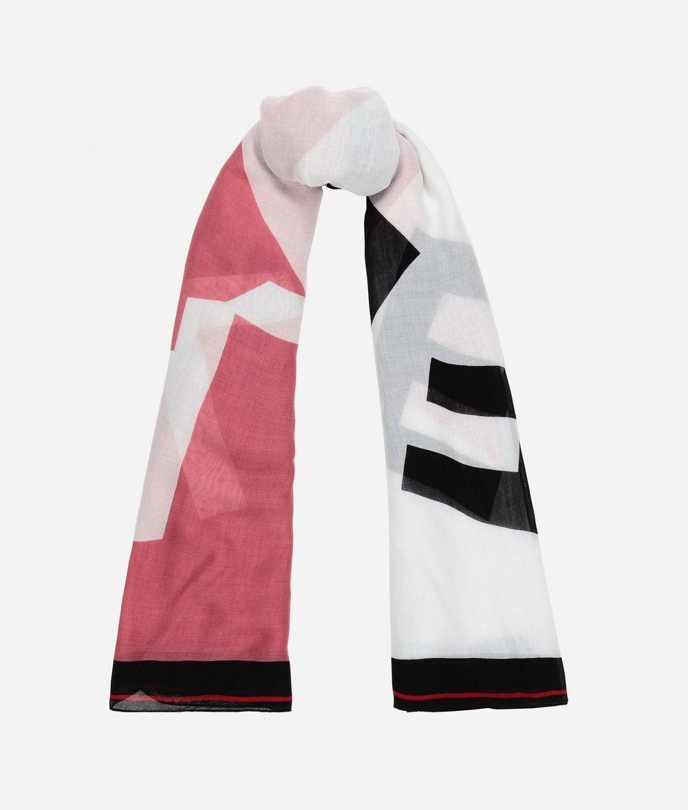 KARL LAGERFELD K/Sporty Halstuch mit Logo-Design Schal Damen r
