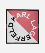 KARL LAGERFELD K/Sporty Halstuch mit Logo-Design 9_f