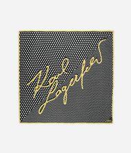 KARL LAGERFELD K/Signature Dots Scarf 9_f