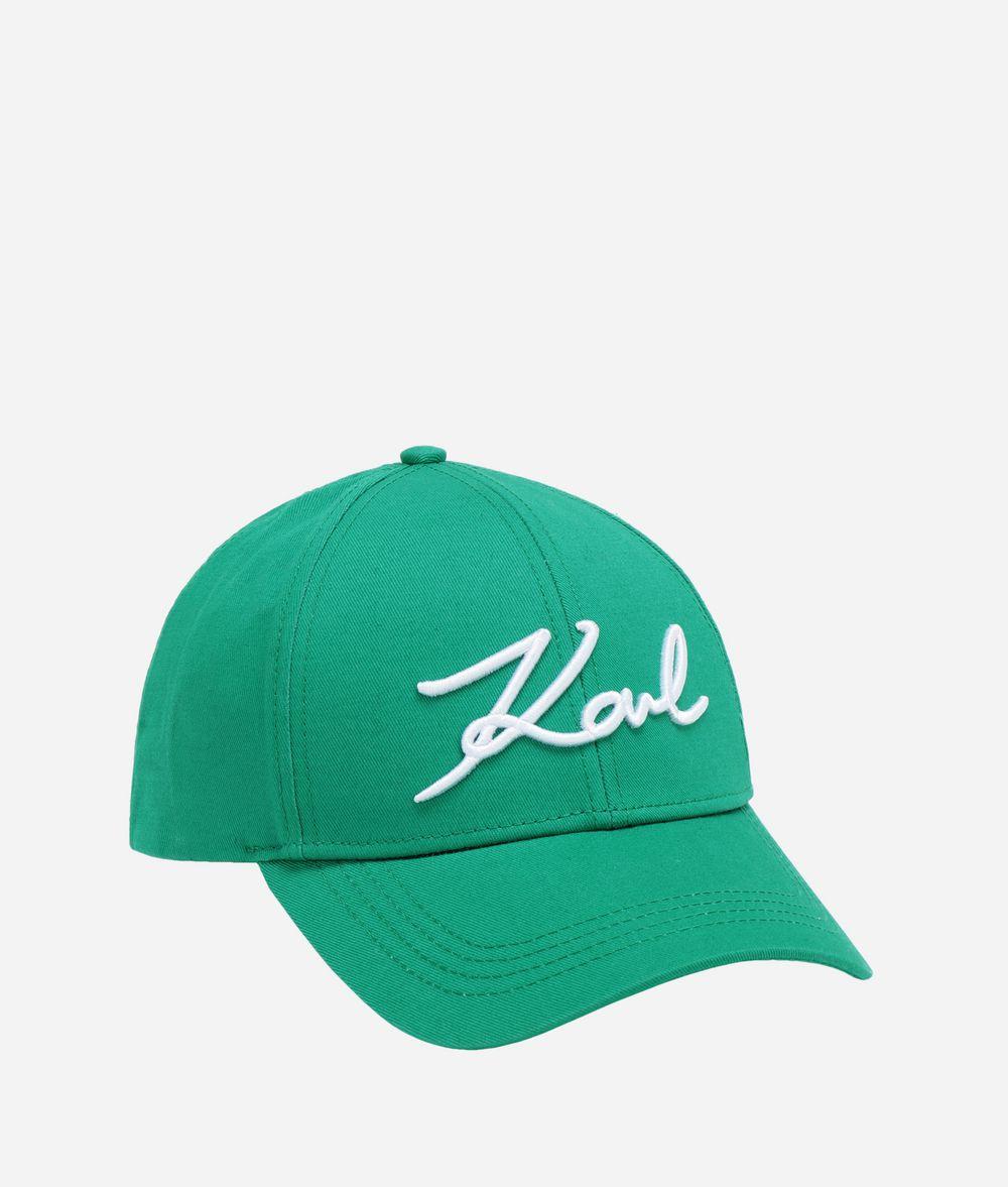 KARL LAGERFELD K/Signature Cap Hat Woman f