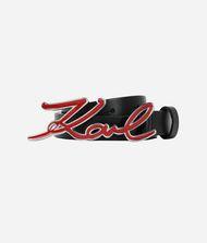 KARL LAGERFELD Karl Logo Buckle Belt 9_f