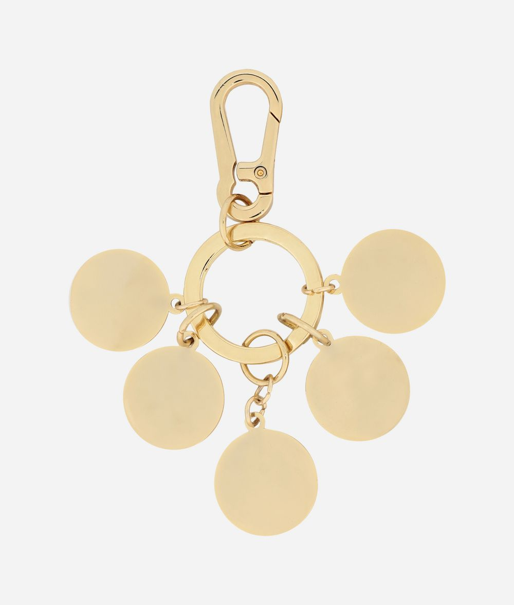 KARL LAGERFELD Schlüsselanhänger mit Metallmünzen Schlüsselanhänger Damen r