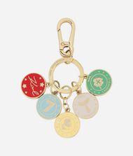 KARL LAGERFELD Schlüsselanhänger mit Metallmünzen 9_f
