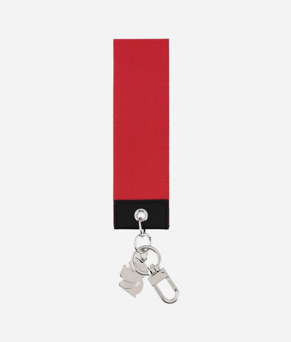 KARL LAGERFELD Étiquette en toile K/Logo Porte-clés Femme r