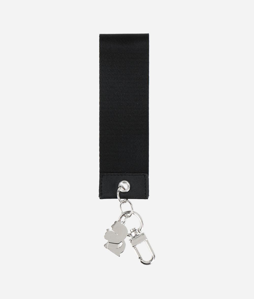 KARL LAGERFELD K/Logo Webbing Tag Key Chain Woman r
